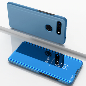 Honor View 20 Clear View Mirror Standing Flip Case [Non Sensor Working]