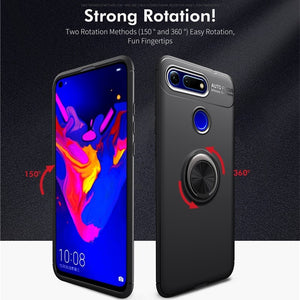 Honor View20/V20 Metallic Finger Ring Holder Matte Case