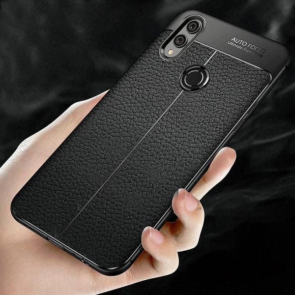Huawei Honor Y9 (2019) Auto Focus Leather Texture Case