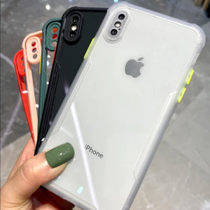 iPhone XS MAX Shockproof Bumper Phone Case with Camera Protection