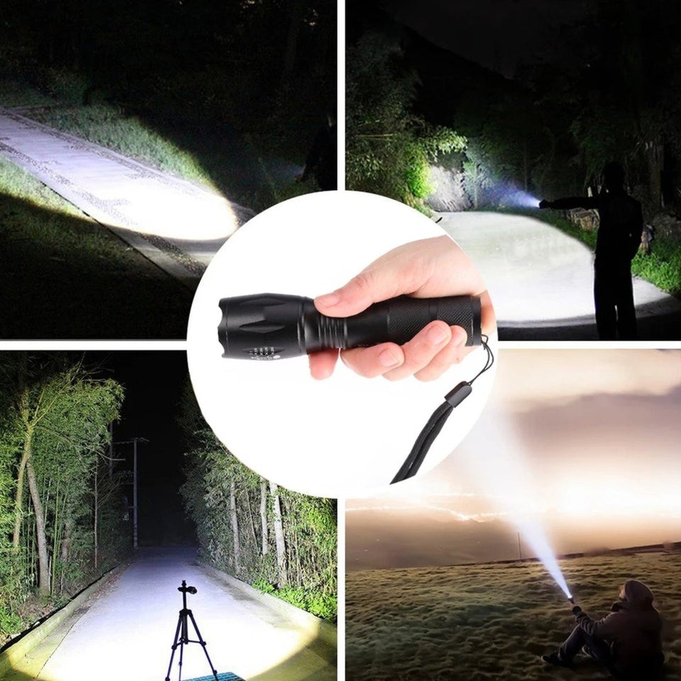 XM- L2 LED Flashlight Torch