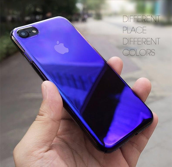 Baseus ® iPhone 8 Plus  Aura Gradient Glaze Case
