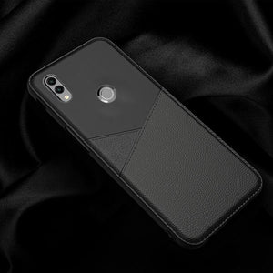 Redmi Note 7 Pro Business Leather Pattern TPU Soft Case