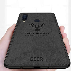 Galaxy M30 Deer Pattern Inspirational Soft Case (3-in-1 Combo)