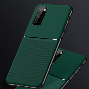Galaxy M31 Carbon Fiber Twill Pattern Soft TPU Case