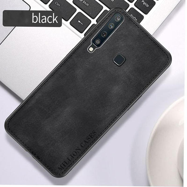 Galaxy A9 2018 Million Cases Special Edition Soft Fabric Case