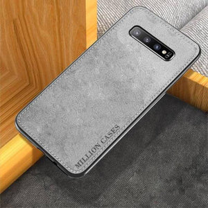 Galaxy S10 Million Cases Special Edition Soft Fabric Case