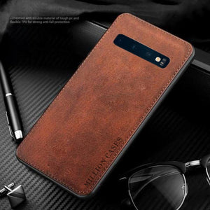 Galaxy S10 Plus Million Cases Special Edition Soft Fabric Case