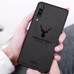 Xiaomi Mi A3 Deer Pattern Inspirational Soft Case