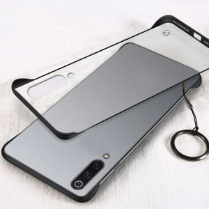 Xiaomi Mi A3 Luxury Frameless Transparent Case