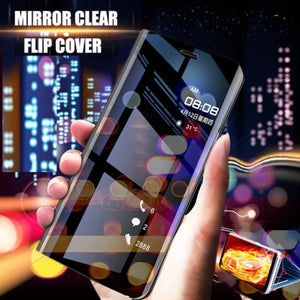 Redmi K20 Pro Mirror Clear View Flip Case [Non Sensor Working]
