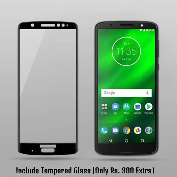 Moto G6 Plus Special Edition Silicone Soft Edge Case