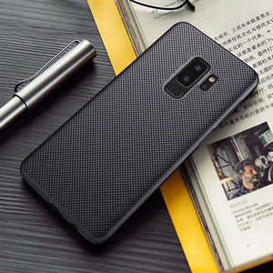 Galaxy J8 Breathing Series Ultra-Thin Perfect Fitting Case