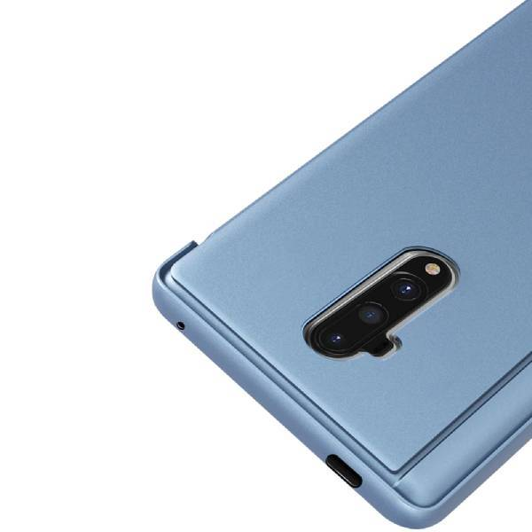 OnePlus 7T Pro Mirror Clear View Flip Case  [Non Sensor Working]