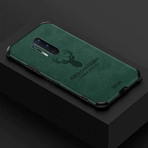 OnePlus 8 Pro Shockproof Deer Leather Texture Case