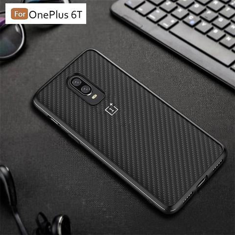 OnePlus 6T TPU + PC Shockproof Frosted Back Case