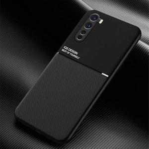 OnePlus Nord Carbon Fiber Twill Pattern Soft TPU Case