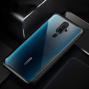 Oppo A9 (2020) Shockproof Transparent Back Eagle Case