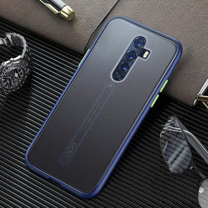 Oppo Reno 2Z Luxury Shockproof Matte Finish Case