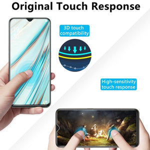 Oppo F15 Ultra HD Full Covered Tempered Glass