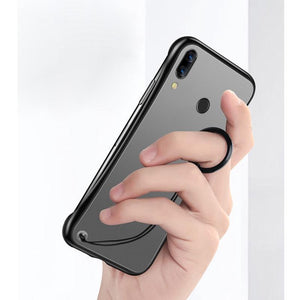 Oppo Realme 3 Pro Luxury Frameless Transparent Case