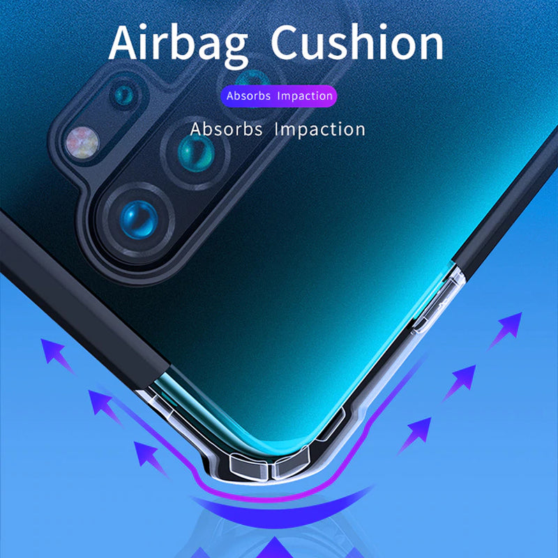 Redmi Note 8 Pro Shockproof Transparent Back Eagle Case