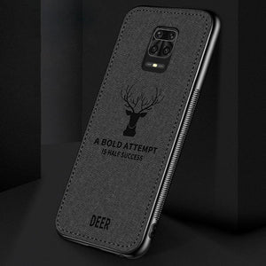 Redmi Note 9 Pro Max Deer Pattern Inspirational Soft Case