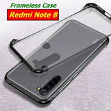 Redmi Note 8 Luxury Frameless Transparent Case
