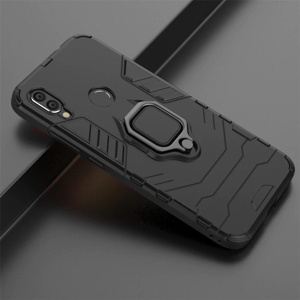 Redmi Note 7 Ring Buckle Kickstand Case
