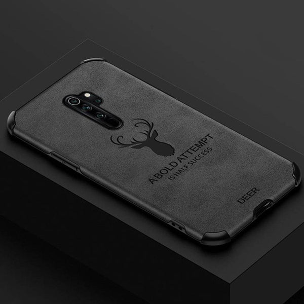 Redmi Note 8 Pro Shockproof Deer Leather Texture Case