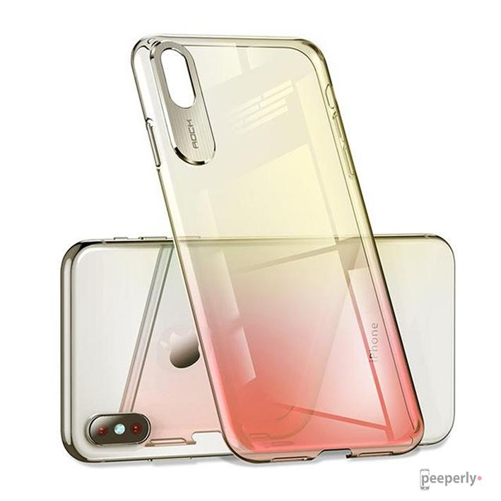 Rock ® iPhone XS Aura Gradient Glaze Back Case