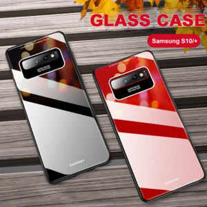 Galaxy S10 Plus Luxury Soft Edge Acrylic Case