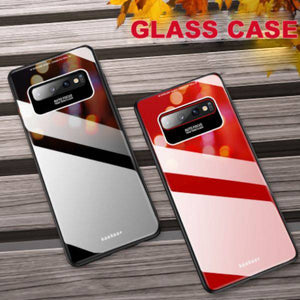 Galaxy S10 Luxury Soft Edge Acrylic Case