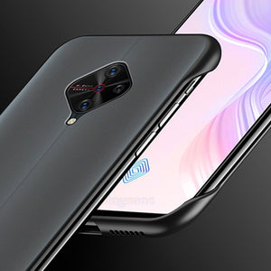 Vivo S1 Pro Luxury Frameless Transparent Case