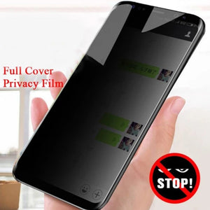 Galaxy S8 Plus Privacy Tempered Glass [Anti- Spy Glass]