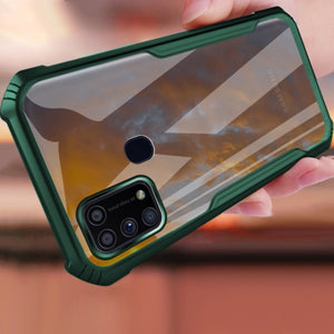 Galaxy M21 Shockproof Transparent Back Eagle Case