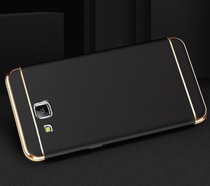 Galaxy J7 Prime Metal Plating Hard Case
