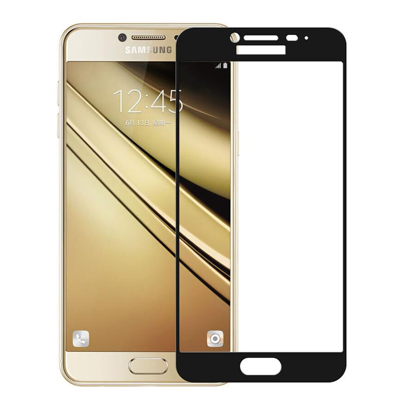 Galaxy J7 Pro Full Screen Protection 5D Tempered Glass