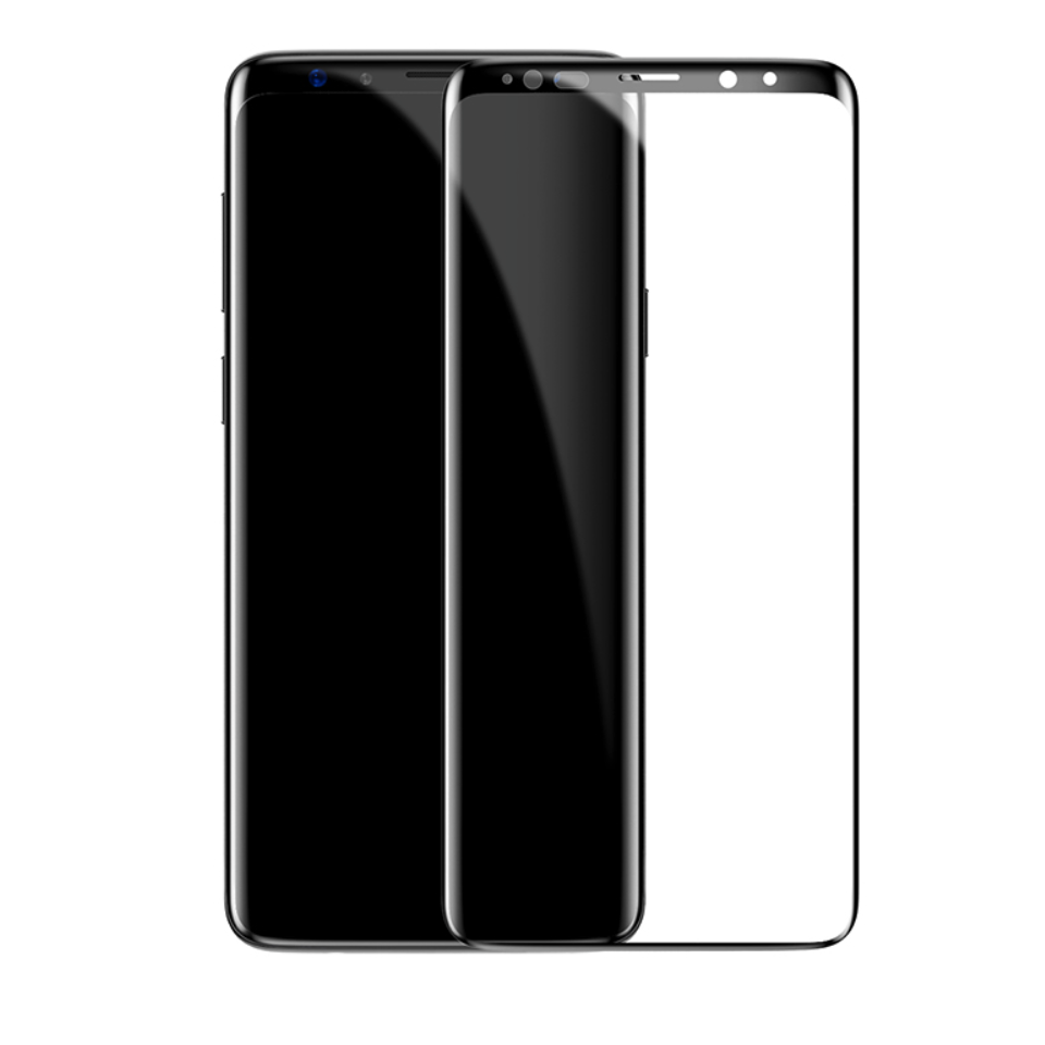 Galaxy S9/S9 Plus Curved Edge 4D Tempered Glass