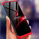 Vivo V9 Ultimate 360 Degree Protection Cover + Tempered Glass + Camera Lens Protector
