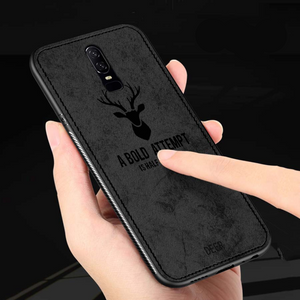 OnePlus 6 Deer Pattern Inspirational Soft Case