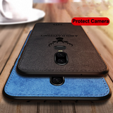 OnePlus 6 Deer (3 in 1 Combo) Deer Case + Tempered Glass + Earphones