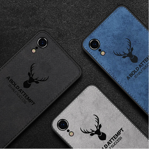 iPhone 7 Deer Pattern Inspirational Soft Case