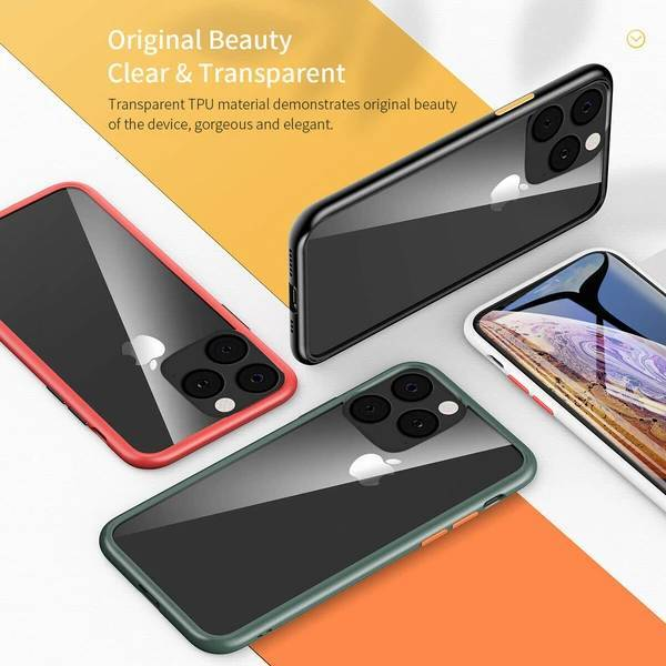 iPhone 11 Pro Max Shockproof Clear Soft Edge Case
