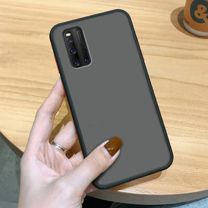 Vivo V19 Luxury Shockproof Matte Finish Case