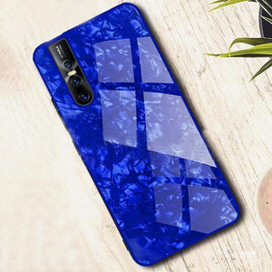 Vivo V15 Pro Dream Shell Textured Marble Case