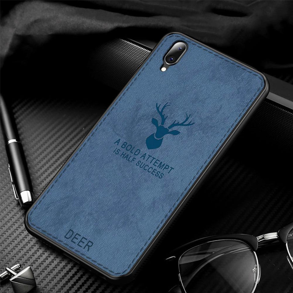 Galaxy M10 Deer Pattern Inspirational Soft Case