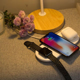3-in-1 Wireless Charging Pad for Apple Devices
