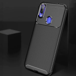 Redmi Note 7 Pro Frosted Carbon Fiber Shockproof Soft Case