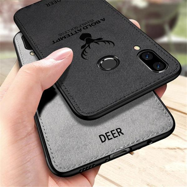 Galaxy A30 Deer Pattern Inspirational Soft Case